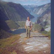 Stien mellom Kaldhusseter og Zakariasvatnet