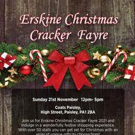 Erskine Christmas Cracker Shopping Fayre