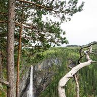 Haugsfoss fra Tinnsjø Kro & Camping