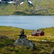 Vikafjellvegen til Åsedalen via Bjergane