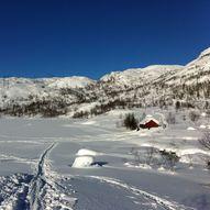 Lett tur til Nystølen på Nygard i Modalen - rundtur