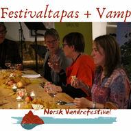 Festivaltapas med lokale smaker på Norsk Vandrefestival m/Vamp-konsert