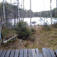 Siggerud - Syverudtjern, over Tangefjellet, Sauåsen og Snikedalsåsen