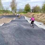 Pumptrack i Årsøya fritidspark