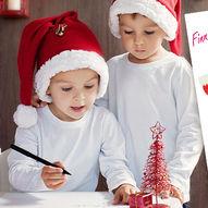 Finn fem feil - aktivitetsark med juletema