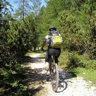SIDDISSTIEN på sykkel
