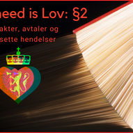 All you need is Lov § - Juss Grand Prix
