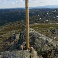 Topptur til Haglebunatten 1278 moh  om Slokoskaret