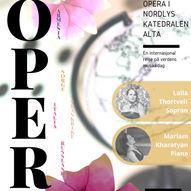 Opera i Nordlyskatedralen // Laila Thortveit og Mariam Kharatyan