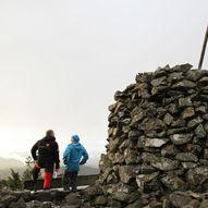 Liafjellet frå Solbakken
