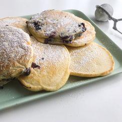 Luftige, Amerikanske pannekaker