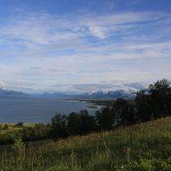 Slettneset til Store Blåmann 1044 moh.