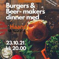 Burgers & Beer-Makers Dinner