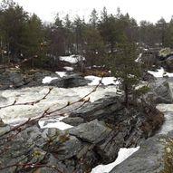 Håmårfossen på Lesjaskog