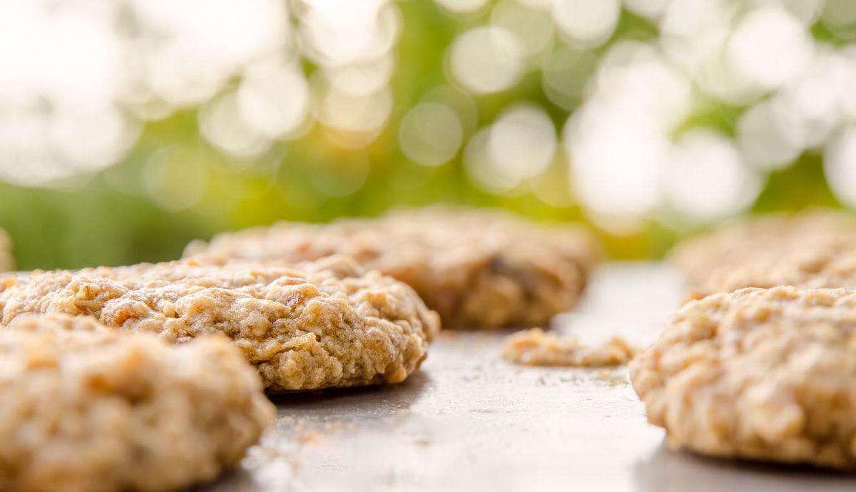 Cookies på fat
