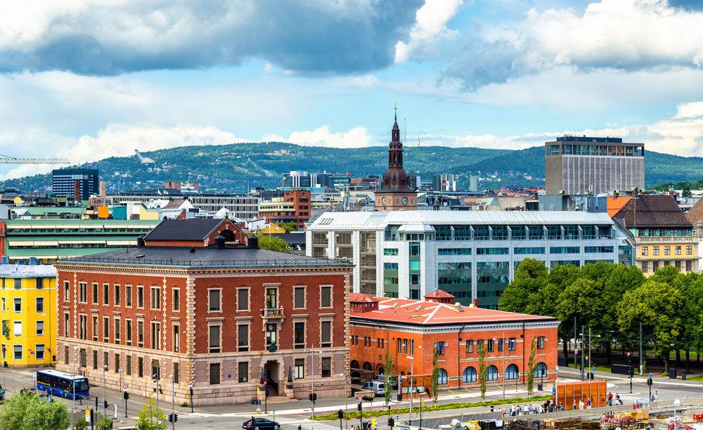 Oslo sett fra lufta