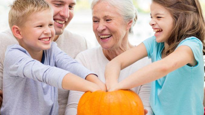 Halloween med familien