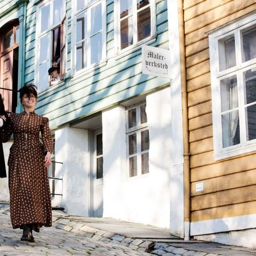 Aktører gjør historien levende på Gamle Bergen Museum