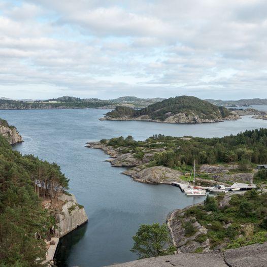 Utsikt til Gyarhavn fra Ørnakulå