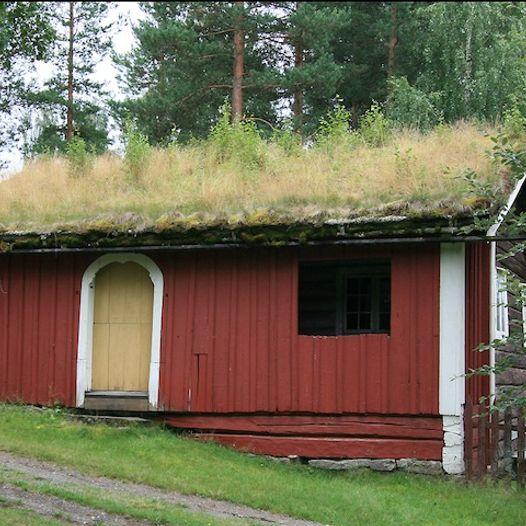 Sommerstue fra Berger, Åmot. Trolig bygd på 1600-tallet