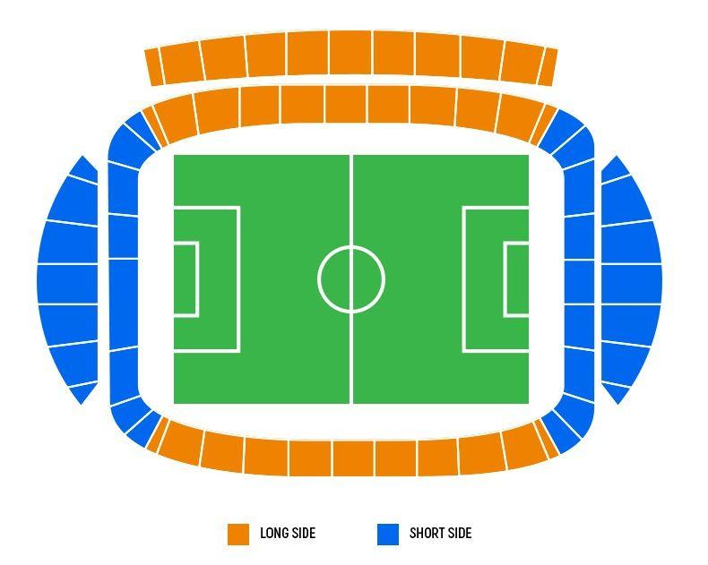 seating plan and map of Liberty Stadium (Swansea)