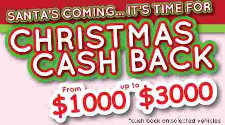 Christmas Cash Back