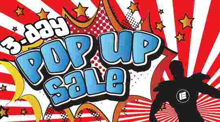 3 Days SUPER Pop Up Sale