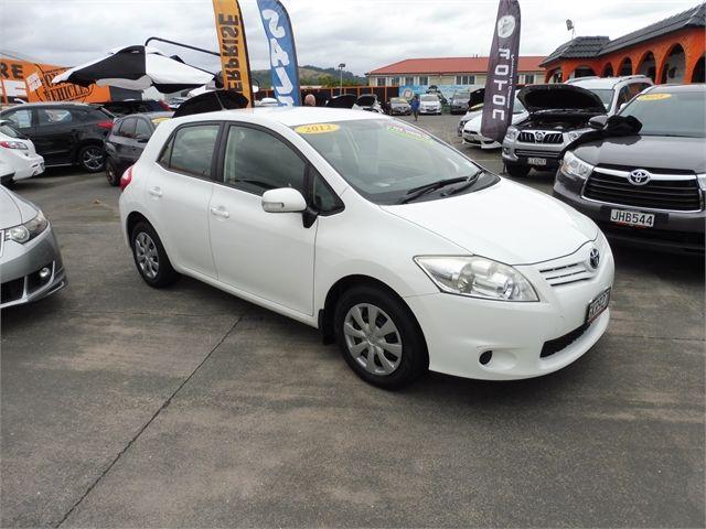 Toyota Corolla Used >> 2012 Toyota Corolla