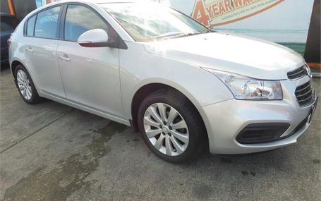 2016 Holden Cruze EQUIPE 1.8P/6AT/HA/5 Test Drive Form