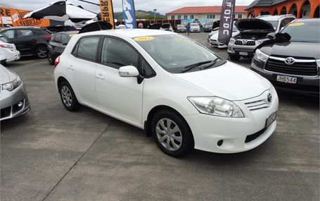 2012 Toyota Corolla 1.8P GX HATCH 5 6M Test Drive Form
