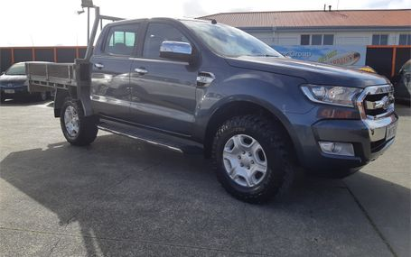 2015 Ford Ranger XLT DOUBLE CAB W/SA Test Drive Form