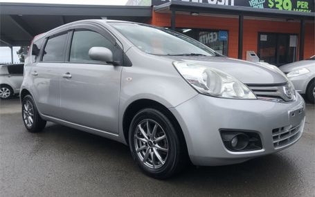 2008 Nissan Note  Test Drive Form