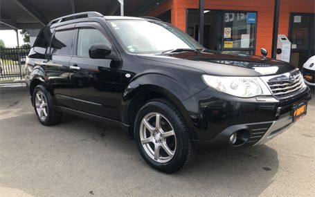 2008 Subaru Forester  Test Drive Form