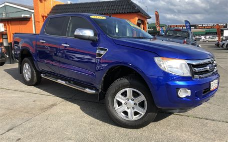 2013 Ford Ranger 3.2TD XLT DC W/S 4X2 Test Drive Form