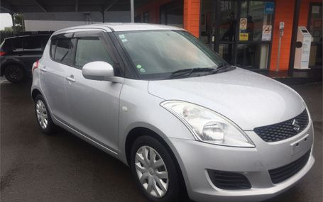 2010 Suzuki Swift  Test Drive Form