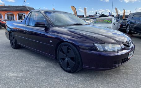 2004 Holden Ute S V6 Test Drive Form