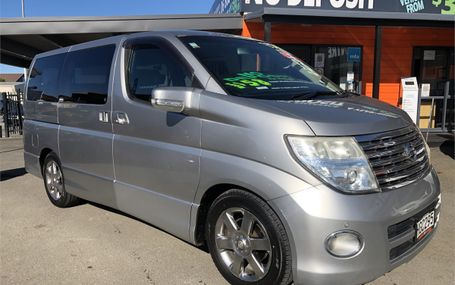 2004 Nissan Elgrand  Test Drive Form