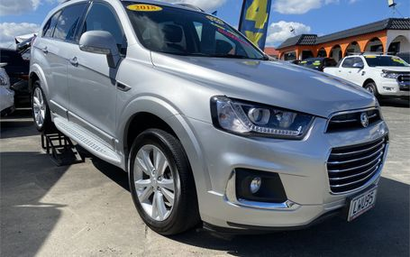 2018 Holden Captiva LT 3.0P/4WD/6AT Test Drive Form