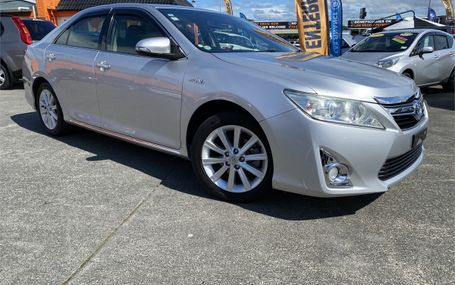2012 Toyota Camry  Test Drive Form