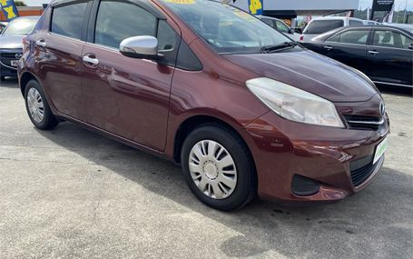 2011 Toyota Vitz JEWELA Test Drive Form