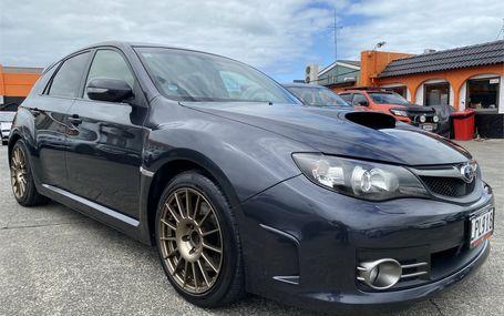 2009 Subaru Impreza STI Test Drive Form