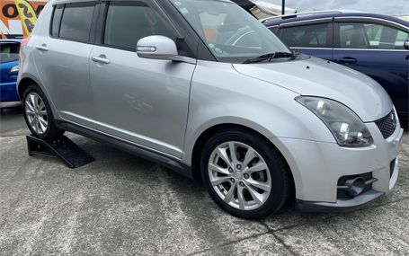 2010 Suzuki Swift SPORT Test Drive Form