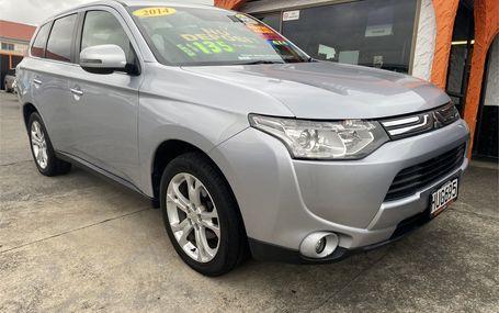 2014 Mitsubishi Outlander  Test Drive Form