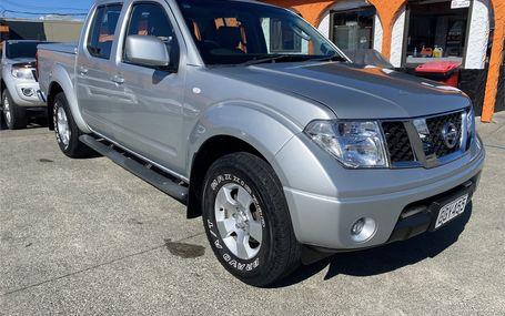 2012 Nissan Navara D/C 2.5D 4WD ST MT Test Drive Form