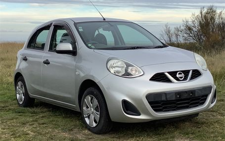 2015 Nissan March  Test Drive Form