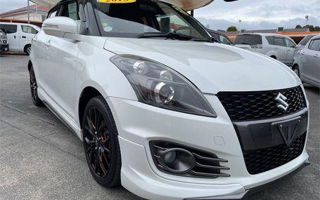 2015 Suzuki Swift SPORT Test Drive Form