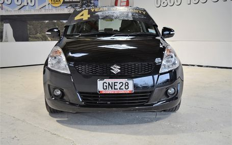 2012 Suzuki Swift LIMITED 46,500 KMS Test Drive Form