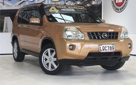 2008 Nissan X-Trail 25X 4WD MODEL Test Drive Form