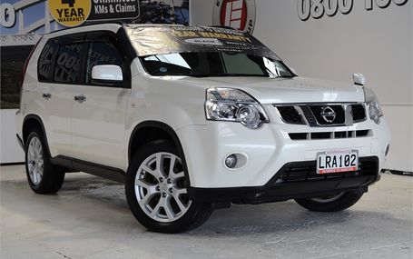 2010 Nissan X-Trail TURBO DIESEL 4WD Test Drive Form