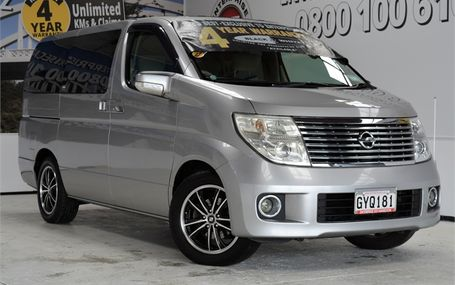 2005 Nissan Elgrand 2.5 People Mover Test Drive Form